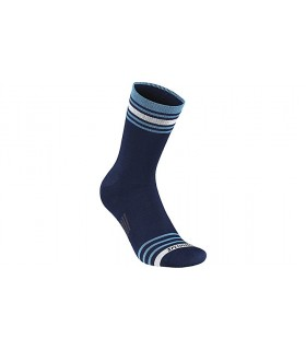 SPECIALIZED ANKLE STRIPE WINTER SOCK BLU/NEON BLU L