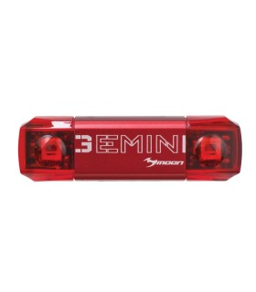 """LUZ TRASERA USB """"GEMINI"""" 20/30 LUMENS"""