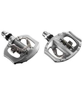 PEDALES SHIMANO A530 SPD PLATA