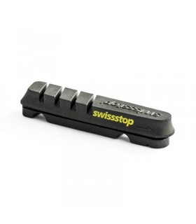 KIT 4 ZAPATAS SWISSSTOP FLASH EVO NEGRO