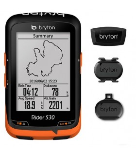 BRYTON GPS RIDER 530T (VELOCIDAD+CADEN+FREC CARDIACA