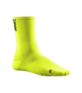 CALCETINES MAVIC COMETE SAFETY YEL/BK 39/42