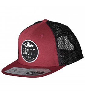 GORRA SCOTT MOUNTAIN WINE RED / BLACK