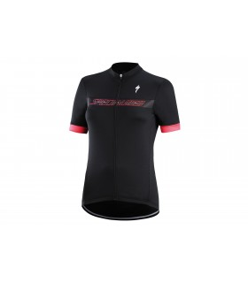 MAILLOT SPECIALIZED RBX SPORT LOGO MUJER MANGA CORTA VISTA FRONTAL