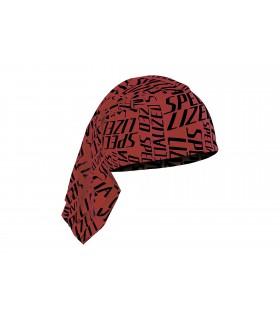 SPECIALIZED TUBULAR HEADWEAR RED/BLK OSFA