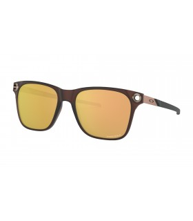 GAFAS OAKLEY APPARITION STN DK AMBER W/ PRIZM RSE GOLD FRONTAL LATERAL
