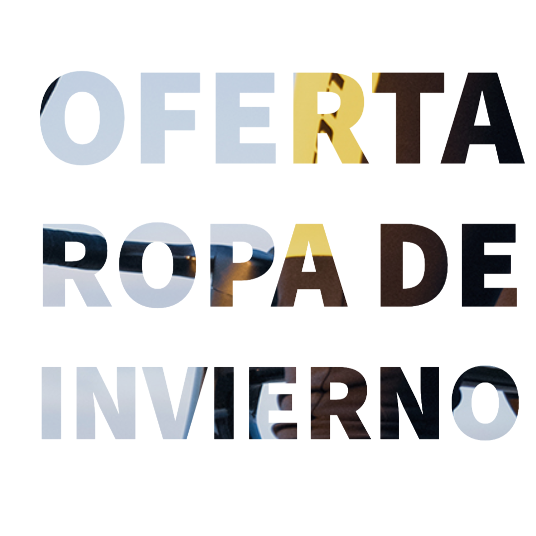 OFERTA ROPA DE INVIERNO FEBRERO 2021